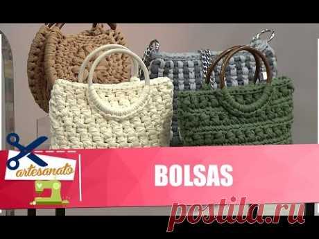 Aprenda a fazer lindas bolsas com artesã Helen Mareth - 02/03/20