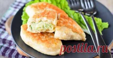 Пышные и румяные пирожки с картошкой и укропом: готовятся на сковороде | Краше Всех