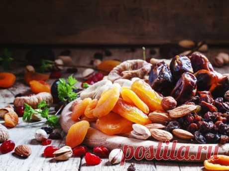 10 frutas secas en vez de las medicinas