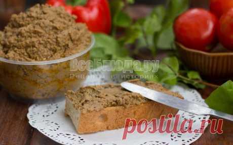Рецепт паштета из куриной печени - пошаговые фото | Все Блюда