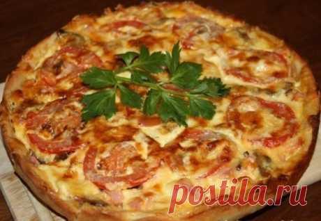 Картофельная пицца / Удивительная еда!