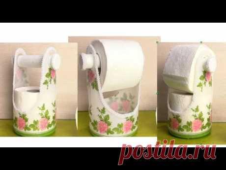 Как сделать подставку для туалетной бумаги. ХоббиМаркет