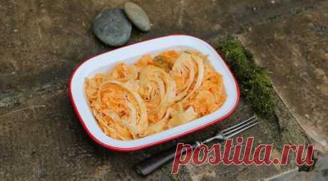 Маринованная капуста в тайском стиле, пошаговый рецепт с фото