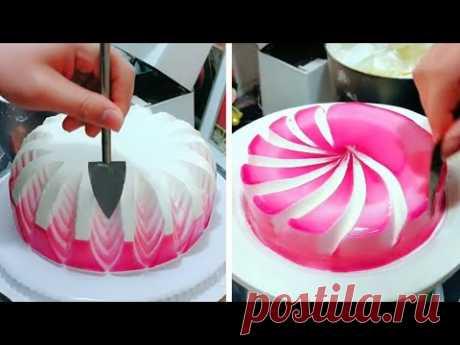 Most Satisfying Cake Design Ideas   Perfect & Beautiful Cake Decorating Tutorials   So Yummy Cake