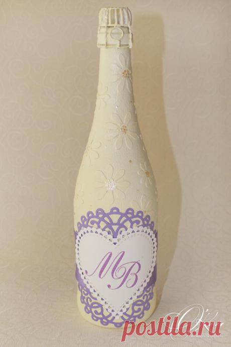 О'Кей: Рабочий процесс - декор шампанского