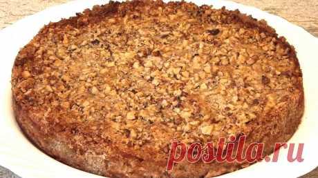 Рецепт болгарского насыпного яблочного пирога. Очень простой в приготовлении! | Варим, жарим и печём | Яндекс Дзен