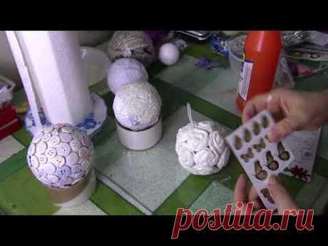 Las bolas de Año Nuevo por el modo más simple de HobbiMarket