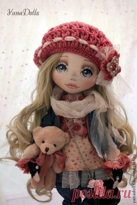 Волшебный мир текстильной куклы