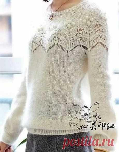 Какое разнообразие! Пуловеры спицами. Часть III | Южная сова | Яндекс Дзен