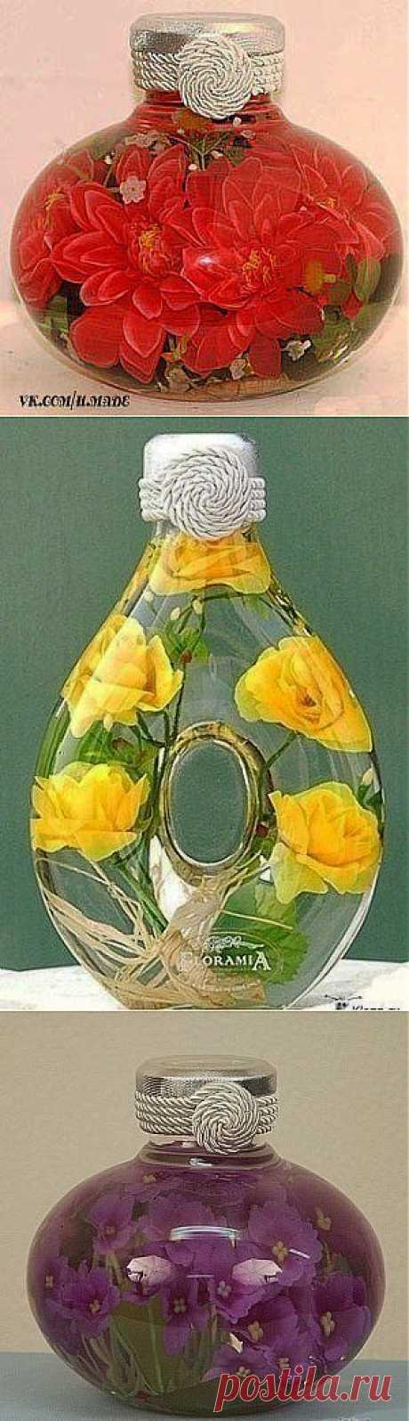 Как сохранить цветы при помощи глицерина | Умелые ручки