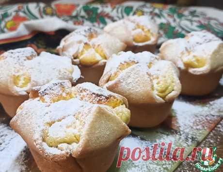 Творожное пирожное по мотивам итальянского Соффиони – кулинарный рецепт