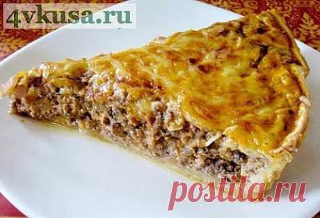 Пирог с мясом | 4vkusa.ru