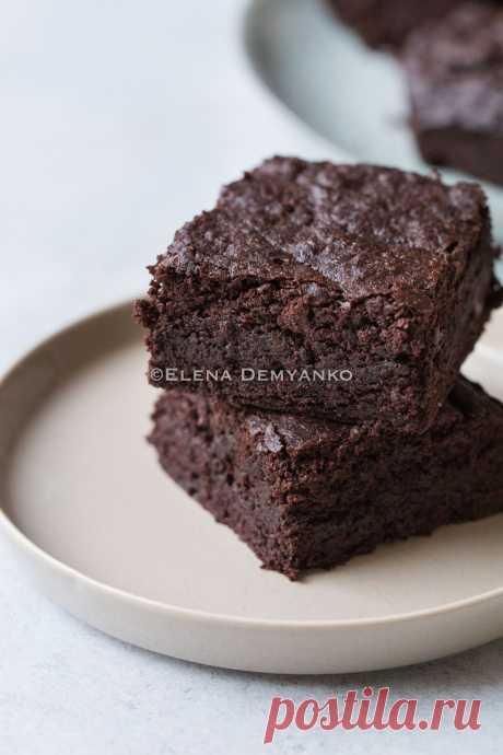 Elena Demyanko: Очень шоколадный брауни / Super chocolate brownies