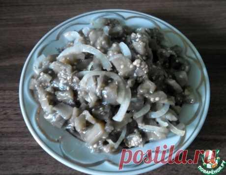 """Маринованные баклажаны """"под грибы"""" – кулинарный рецепт"""