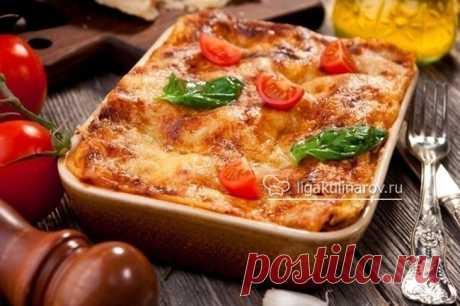 Лазанья с фаршем – Лига Кулинаров, блог Анжелики Быченко