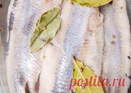 Слабосоленая селедочка - пошаговый рецепт с фото. Автор рецепта Chef Leili . - Cookpad