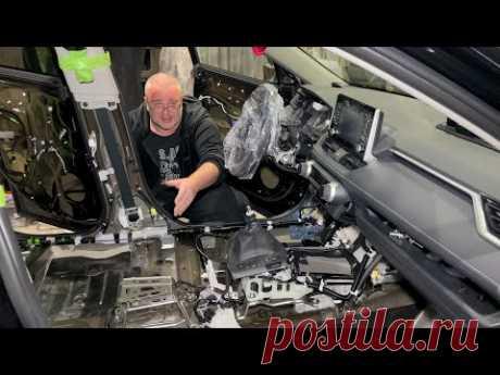 Toyota Rav4 (2021) за 2 млн рублей - Мы разобрали его!