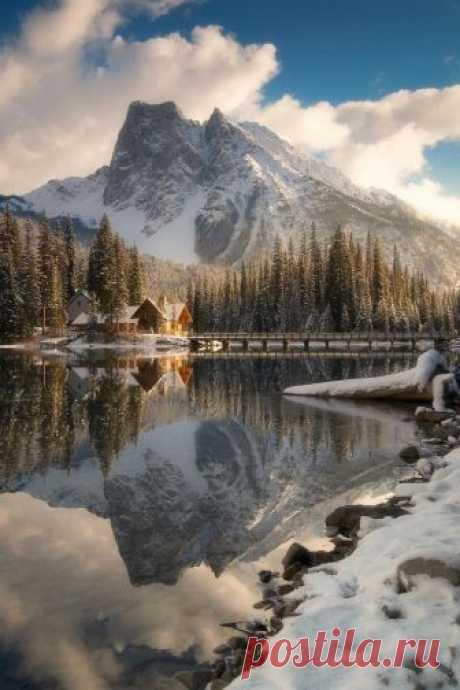 Emerald Lake in Winter     mwhellams