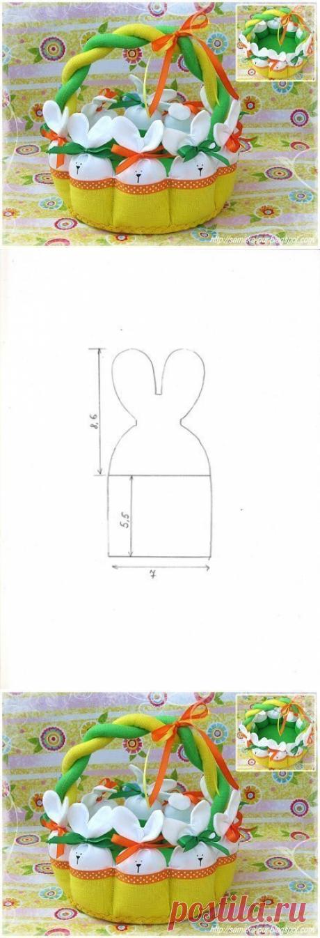 Пасхальная корзинка. Мастер-класс — Журнал Вдохновение Рукодельницы