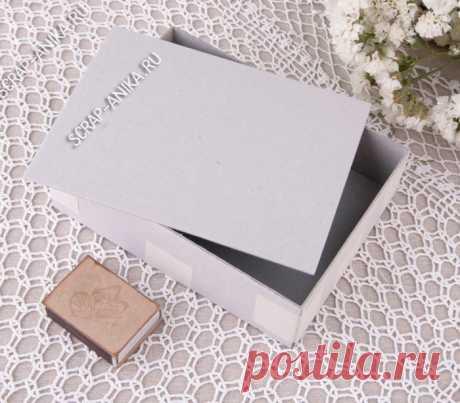 Набор из переплетного картона для коробки №15. (для блокнота А6 формата). - Интернет-магазин - scrap-anika.ru