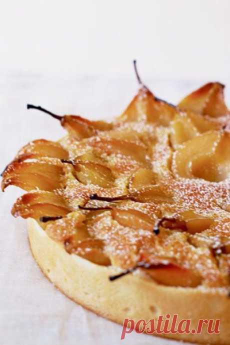 Рецепт неимоверно вкусного пирога с грушами.