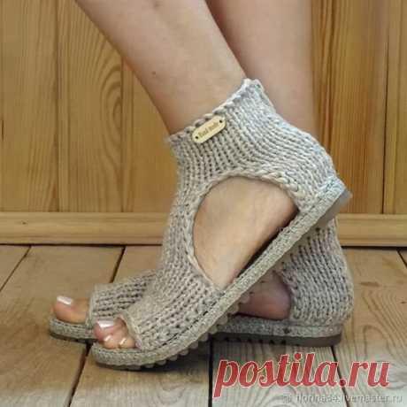 Вязаная обувь. Подборка моделей. | Handmade для всех | Яндекс Дзен