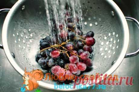 Компот из винограда на зиму: на 3-х и литровую банку, с яблоками, грушами, сливами