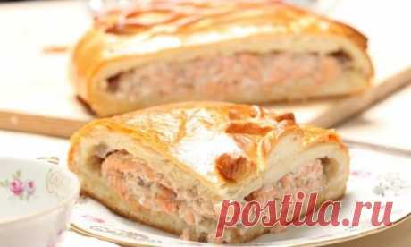 Recipes of fish pie from puff pastry: secrets of the choice of ingredients
