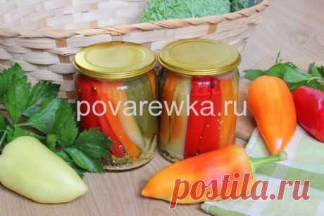 Маринованный перец болгарский на зиму: рецепты с фото пошагово