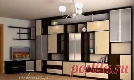 Стенка на всю стену в гостиной по своим параметрам: фото, замер, материалы, дизайн-проект, гарантия