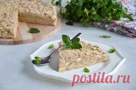 Торт Наполеон из лаваша с заварным кремом без выпечки рецепт с фото пошагово и видео - 1000.menu