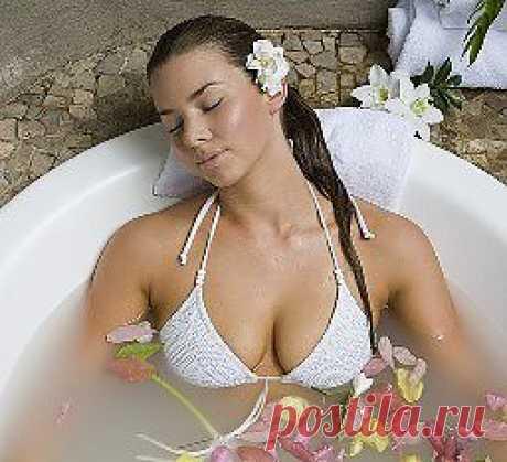 Хотите стать стрйными - принимайте содовые ванны.