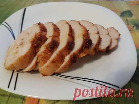 Пастрома из куриной грудки в духовке в домашних условиях