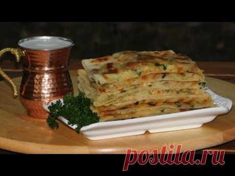 Лепёшки ГЁЗЛЕМЕ с картофельно грибной начинкой от души.) - YouTube