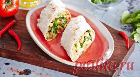 Рулеты из лаваша ссалатом из фасоли иавокадо, пошаговый рецепт с фото