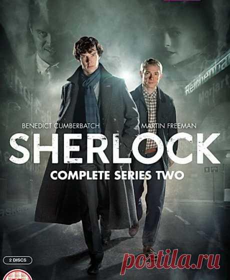 """Замечательный сериал""""Шерлок"""" Весь 1 сезон.Рекомендую!Приятного просмотра!."""