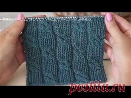Жгуты из резинки 1на1. Шикарный узор для шапок, свитеров, кардиганов