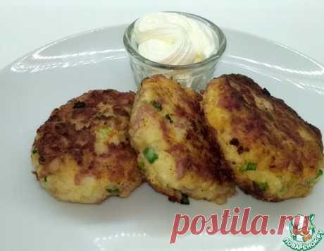 Картофельные котлеты с колбасой и сыром – кулинарный рецепт