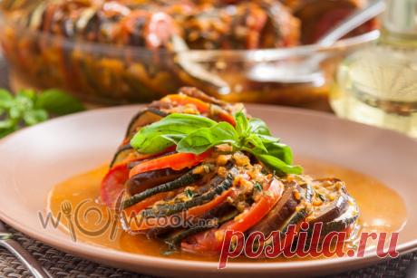 Рататуй в духовке - обязательно попробуйте, пока не закончились свежие овощи | WOWcook- САМЫЕ ВКУСНЫЕ РЕЦЕПТЫ | Яндекс Дзен