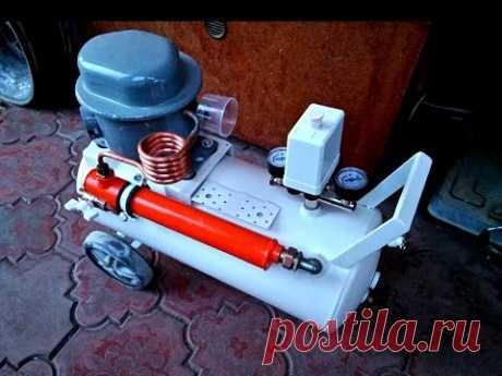El compresor del refrigerador silencioso improvisado (silent compressor)