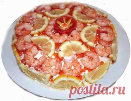 Рецепт и фото салата пасхальный венок из свинины и красной икры - кулинарный рецепт с фото по шагам