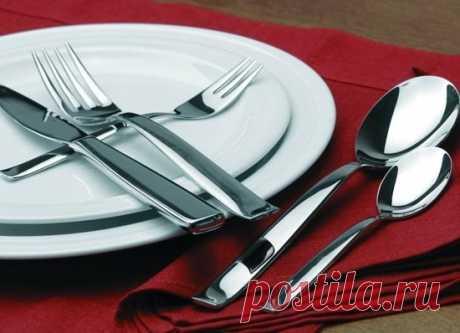 Как вернуть первоначальный вид вилкам, ложкам и ножам — Полезные советы