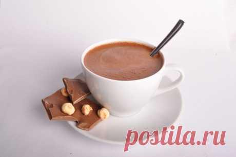 Польза горячего шоколада для Вашего здоровья