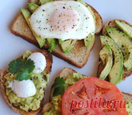 Невыразимая легкость кулинарного бытия...: Тосты с авокадо: любимое блюдо миллениалов