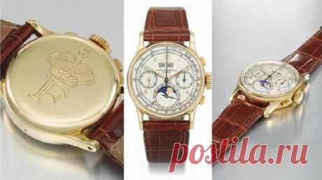 Часы короля Египта выставят на аукцион в Дубае | События