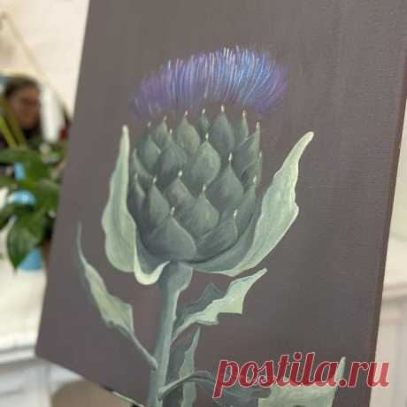 Photo by Елена Галетка (Рутто) on April 14, 2021. May be an image of artichoke, teasel and text that says 'Greatta'.