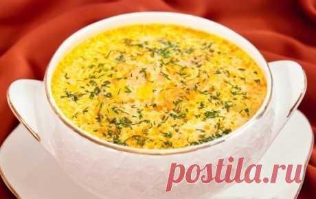 Пальчики оближешь! Сливочный суп с семгой — Готовим дома