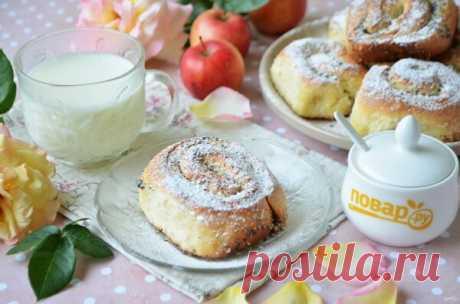 Улитки и завитушки: топ-6 рецептов крученой выпечки (с сыром, сахаром, яблоками) | POVAR.RU | Яндекс Дзен