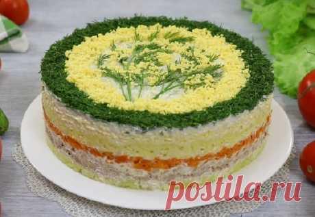 Слоёный салат «Мимоза» — СОВЕТНИК