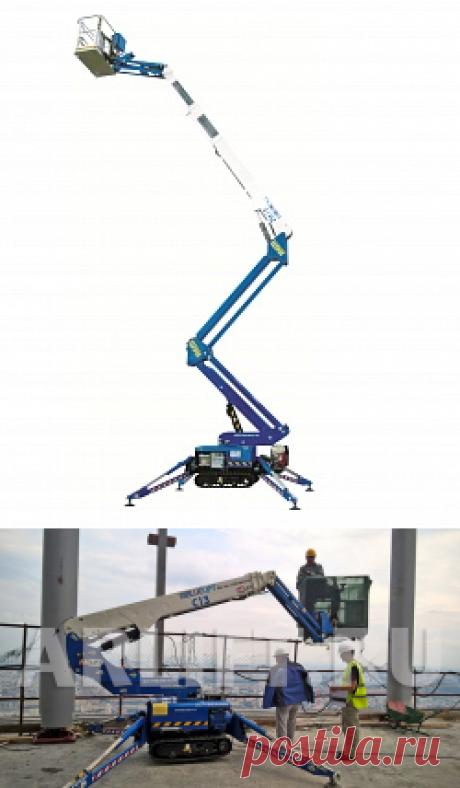 Коленчатые самоходные подъемники в аренду - телескопические спайдер-вышки  Рекомендую аренду вышек именно в Арлайфте, так как вся техника европейского качества.